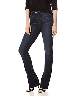 Paige Manhattan Bootcut High-Rise Jeans in Gardena