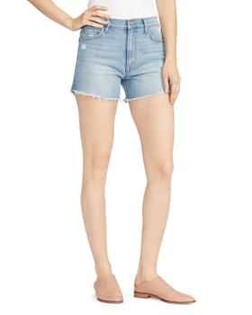 Ella Moss -  Vintage High-Rise Denim Shorts in Elm