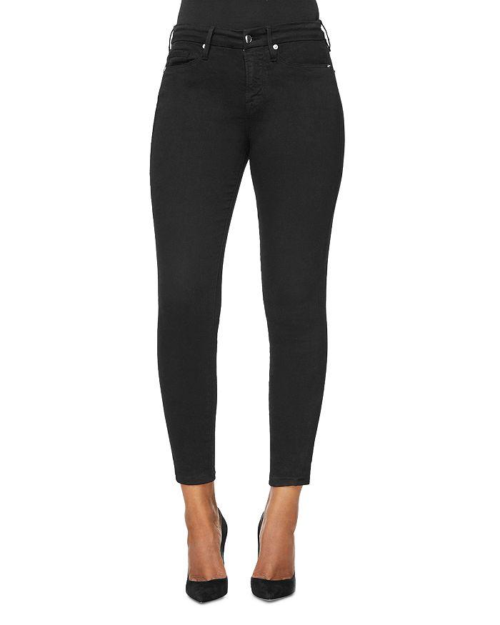 Good American - Good Legs Skinny Jeans in Black001