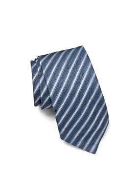 John Varvatos Star USA - Linen Stripe Classic Tie