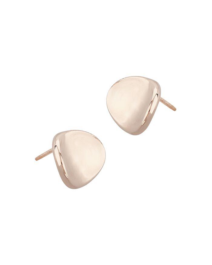 19a61f7df Bloomingdale's - Small Disk Stud Earrings in 14K Rose Gold - 100% Exclusive
