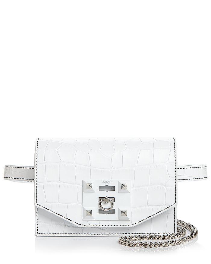 Salar - Sylvie Croc Convertible Belt Bag