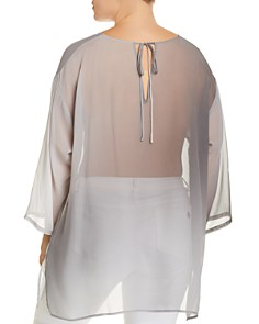 Eileen Fisher Plus - Silk Ombré Tunic