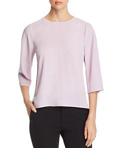 Eileen Fisher - Silk Three-Quarter Sleeve Top