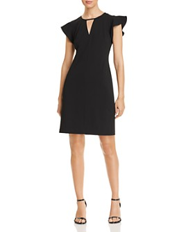 VINCE CAMUTO - Flutter-Sleeve Dress - 100% Exclusive