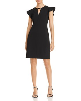 a9e952949979 VINCE CAMUTO - Flutter-Sleeve Dress - 100% Exclusive ...