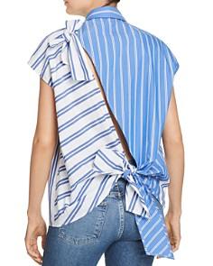 SJYP - Back-Slit Button-Down Shirt