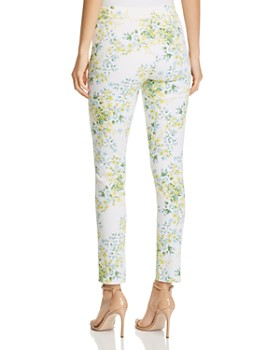 Calvin Klein - Floral-Print Skinny Pants