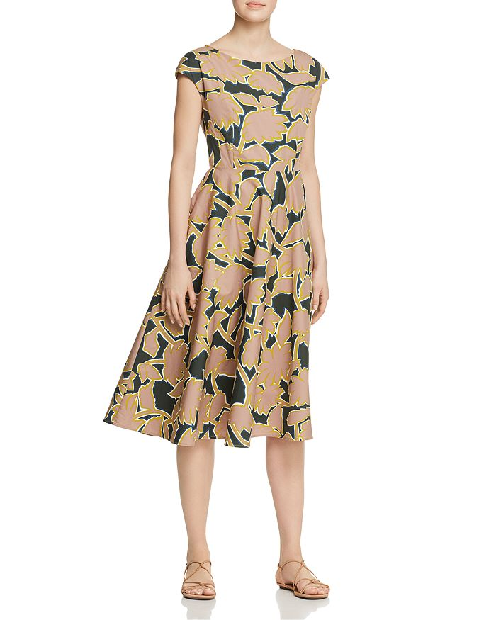80c1af40e81 Weekend Max Mara Saloon Printed Cotton Midi Dress | Bloomingdale's