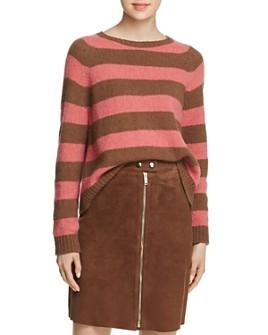 Weekend Max Mara - Calamo Striped Virgin Wool Sweater