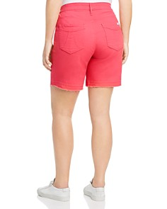 Seven7 Jeans Plus - Weekend Bermuda Shorts in Cayenne