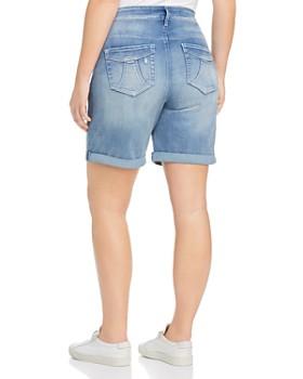 Seven7 Jeans Plus - Weekend Bermuda Denim Shorts in Radiant