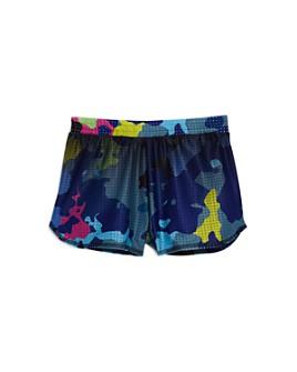 Terez - Girls' Camouflage Mesh Shorts - Little Kid, Big Kid