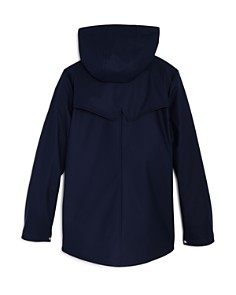 AQUA - Girls' Hooded Rain Jacket, Big Kid - 100% Exclusive