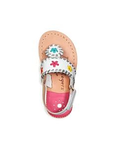 Jack Rogers - Girls' Little Miss Jacks Leather Sandals - Walker, Toddler