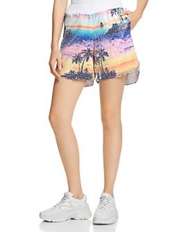 Ksenia Schnaider - Hawaii Multicolored Sequin Shorts