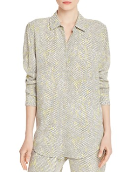 19337dabe775ac Equipment - Essential Printed Blouse ...