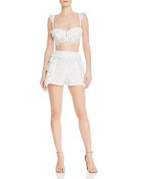 7decf27da6f2e For Love   Lemons - Las Palmas Crop Bra Top   Shorts