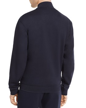 Armani - Jersey Zip-Front Sweater