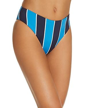 Mila Striped Bikini Bottom