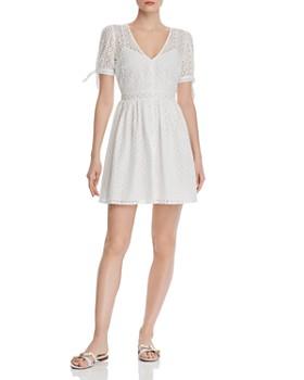 552367783de AQUA - Eyelet Fit-and-Flare Dress - 100% Exclusive ...