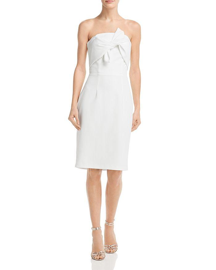 AQUA - Strapless Twist-Front Dress - 100% Exclusive
