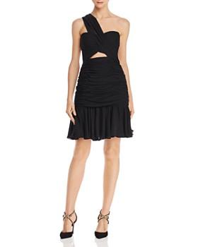 Jill Jill Stuart - One-Shoulder Chiffon Dress
