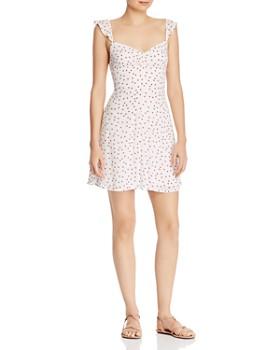 BB DAKOTA - Ruffle-Trim Star Print Dress