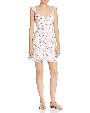 Bb Dakota Dresses RUFFLE-TRIM STAR PRINT DRESS
