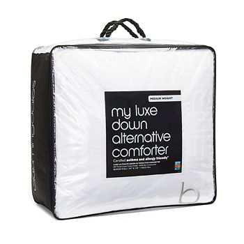 Bloomingdale's - My Luxe Asthma & Allergy Friendly® Medium Weight Down Alternative Comforter, Full/Queen - 100% Exclusive
