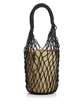 AQUA - Rai Small Net Bucket Bag - 100% Exclusive