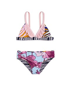Maaji - Girls' Samba Reversible Two-Piece Swimsuit - Little Kid, Big Kid