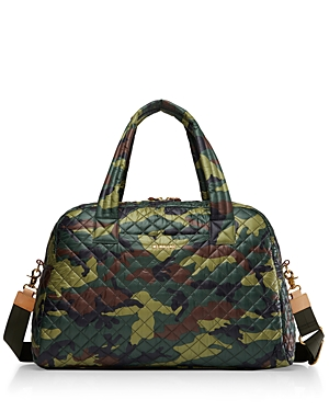 Mz Wallace Handbags CAMO TRAVEL JIM WEEKENDER