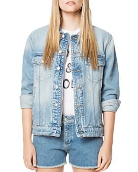 4c480aca8d Zadig & Voltaire - Kase Embellished Denim Jacket ...