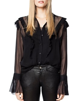 Zadig & Voltaire - Tweet Ruffled Shirt