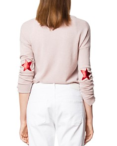 Zadig & Voltaire - Cici Patched Cashmere Sweater