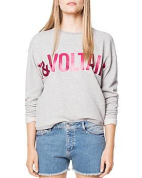 Zadig & Voltaire - Kansas Foil-Print Sweatshirt