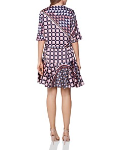 REISS - Orla Geo-Print Dress - 100% Exclusive