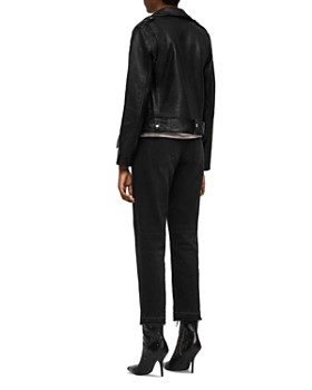 ALLSAINTS - Estae Leather Biker Jacket