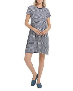 ATM Anthony Thomas Melillo - Stripe Jersey Dress
