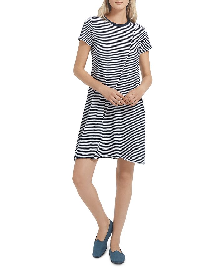 ATM Anthony Thomas Melillo - Stripe Jersey Dress