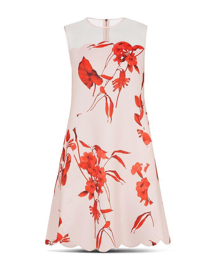 c56f3cdb37f6 Ted Baker - Jaazmin Fantasia-Print Mini Dress