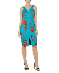Ted Baker - Jordja Fantasia-Print Dress