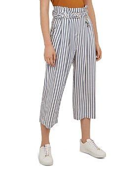 Ted Baker - Colour by Numbers Delyn Striped Crop Pants