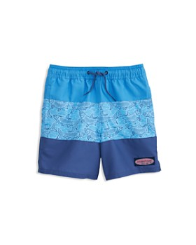 31503ffb7a Vineyard Vines - Boys' Color-Block Chappy Swim Trunks - Little Kid, ...