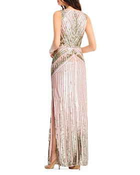 Aidan Mattox - Embellished Column Gown