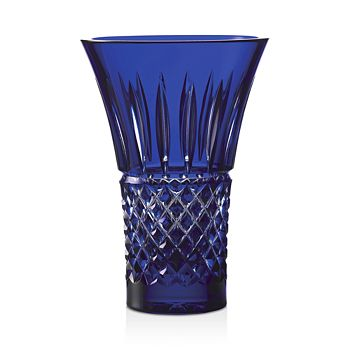 "Waterford - Tramore Blue 8"" Flared Vase"