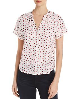 Finn & Grace - Ladybug-Print Shirt