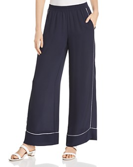 Le Gali - Chrissy Piped Wide-Leg Pants - 100% Exclusive