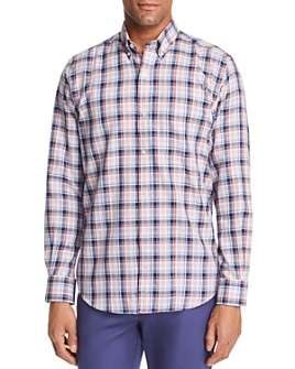 TailorByrd - Edwin Plaid Classic Fit Button-Down Shirt